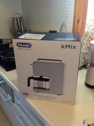 デロンギコーヒーメーカー(CMB6‐WH)を買った