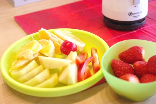 手作りフルーツジュースが旨すぎで参った