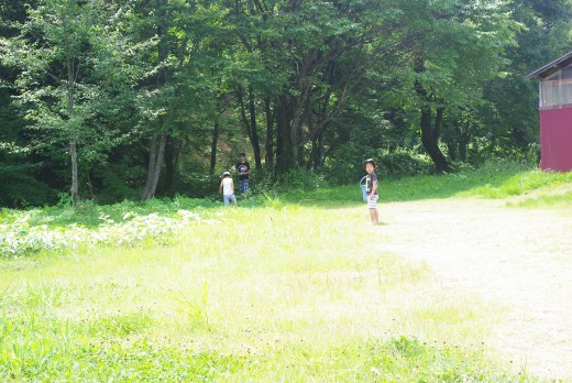 ひるがの高原に友達家族と旅行へ行ってきた