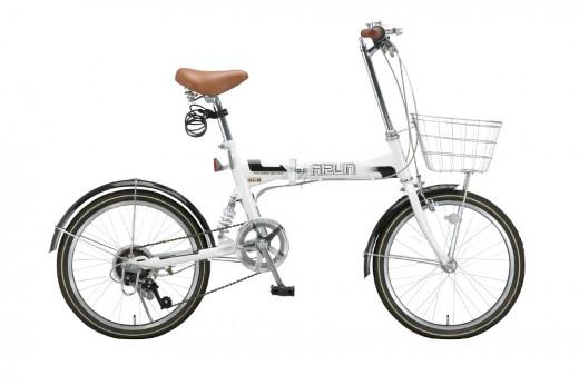 コストパフォーマンス抜群!折りたたみ自転車「ARUNMSB-206AS」が素晴らしい!