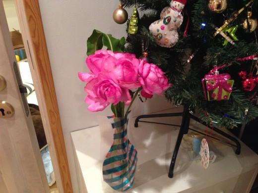花を家に飾ってみた1