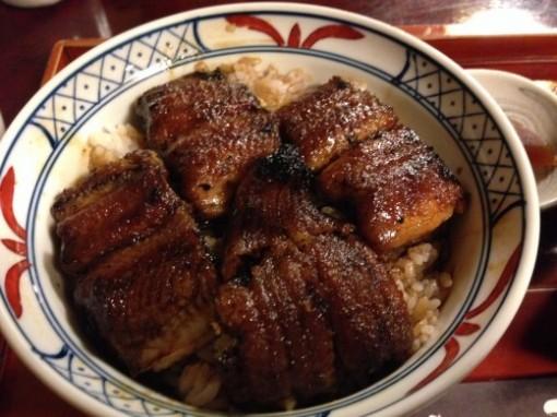 岐阜県関市にあるうなぎ屋「辻屋」のうな丼が自分史上最高のうな丼に決定!