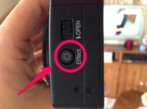 Eye-FiEffectボタン