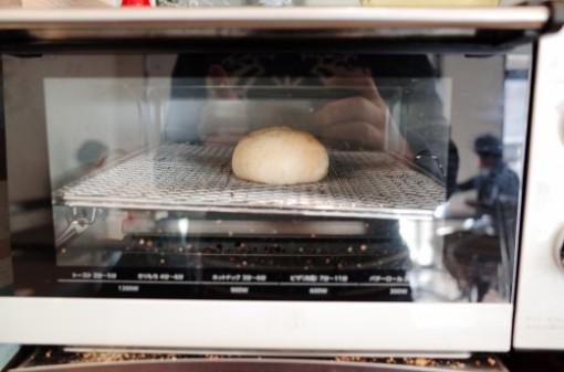 パンはセルフで焼けます