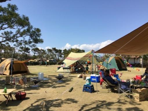 【キャンプ報告】静岡県磐田市の竜洋海洋公園オートキャンプ場が自分キャンプ史上3位以内にランクイン